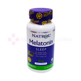 MELATONINA NATROL 5MG TIME RELEASE