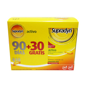 SUPRADYN ACTIVO PROMO 120  90+30