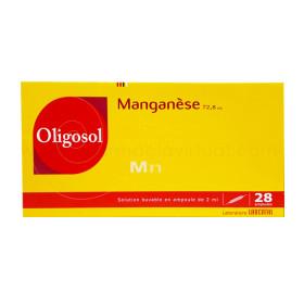 LABCATAL OLIGOSOL MANGANESO 28 AMP