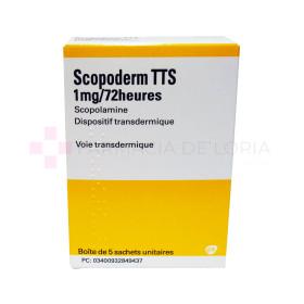 SCOPODERM 1MG*72H TTS D*TRANSD 5