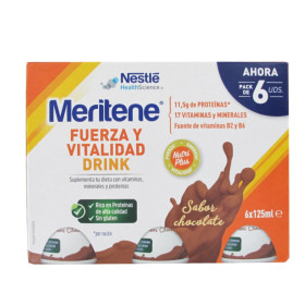 MERITENE DRINK CHOCO 6PACK 8(6X125ML) ES