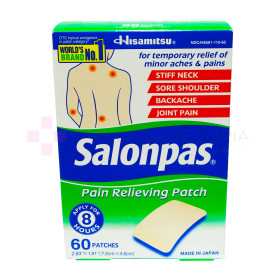 SALONPAS 60 PARCHES