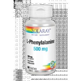 SOLARAY L-PHENYLALANINE 500 MG 60 VEGCAPS