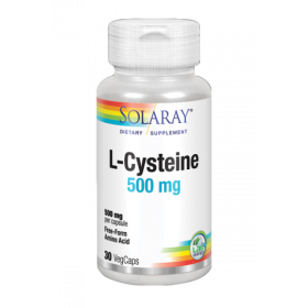 SOLARAY L-CYSTEINE 500 MG 30 VEGCAPS
