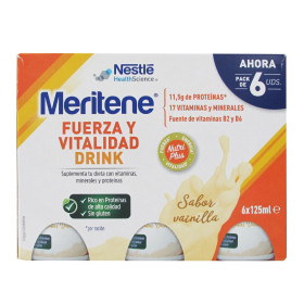 MERITENE DRINK VAIN  6PACK 8(6X125ML) ES