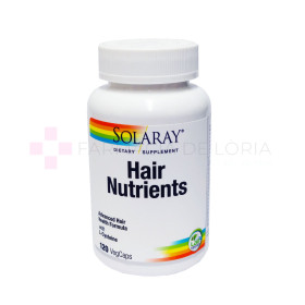 SOLARAY HAIR NUTRIENTS™ 120 VEGCAPS