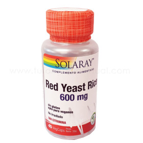 SOLARAY RED YEAST RICE 45 VEGCAPS