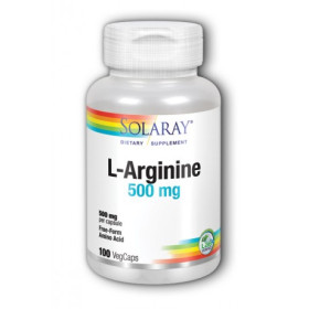 SOLARAY L-ARGININA 500 MG 100 CAPS