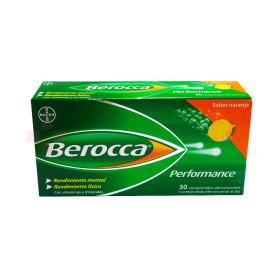 BEROCCA PERFORMANCE NARANJA 30 COM