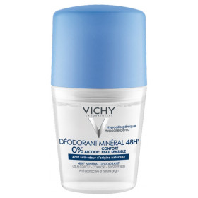 VICHY DEO MINERAL ROLL ON 48H SIN SALES ALUM 50 ML