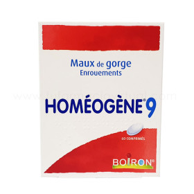 BOIRON HOMEOGENE 9 60 COMP