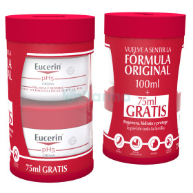 EUCERIN PACK CREMA PH5 100+75ML