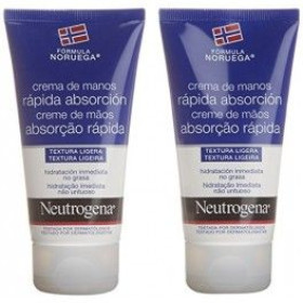 NEUTROGENA CREMA MANOS RAPIDA ABSORCION 2X75ML