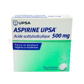 ASPIRINA UPSA 500MG 20 CPR EFF