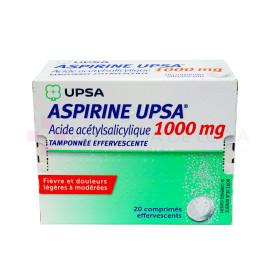 ASPIRINA UPSA 1000MG EFEVERSCENTE