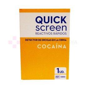 TEST COCAINA QUICKSCREEN 1U