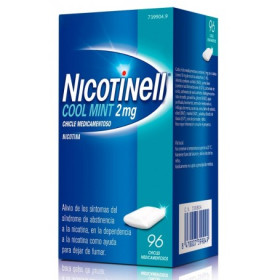 NICOTINELL 2MG CHICLES MEDICAMENTOSO MENTA S/AZÚCAR 96