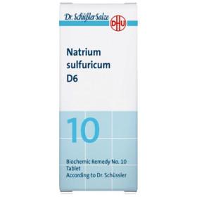 DHU SALES SCHÜSSLER 10 NATRIUM SULFURICUM 80 C