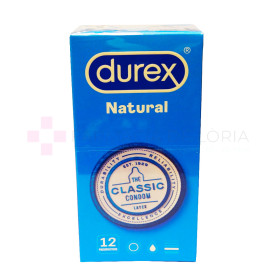 DUREX NATURAL PLUS 12 U