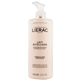 LIERAC LECHE MICELAR DOBLE ACCIÓN 400ML