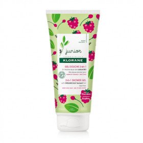 KLORANE JUNIOR GEL DUCHA 2EN1 FRAMBUESA 200ML