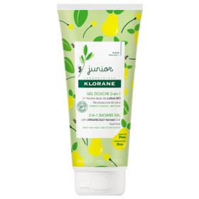 KLORANE JUNIOR GEL DUCHA 2EN1 PERA 200ML