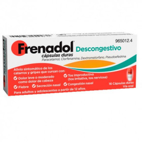 FRENADOL DESCONGESTIVO 16 CAPS