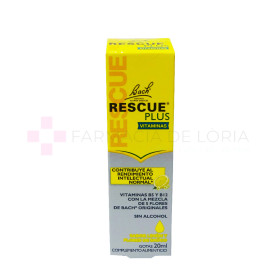 RESCUE FLORES BACH PLUS GOTAS 20 ML