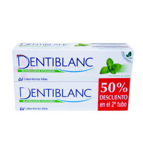 DENTIBLANC MENTA EXTRAFRESH 2X100ML.
