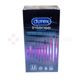 DUREX INTENSE ORGASMIC CONDOMS 12U