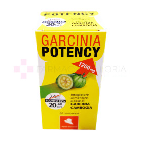 GARCINIA POTENCY DIMA YELLOW 60CPR 1200MG ABBE ROLAND