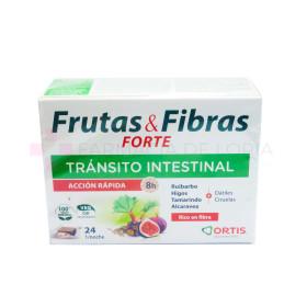 ORTIS FRUTAS Y FIBRAS CONCENTRADO 24 CUBOS