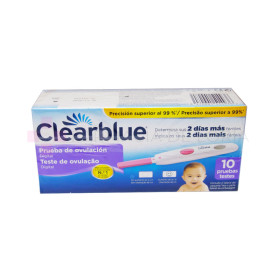 CLEARBLUE TEST OVULACION 10 VARILL